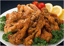 鹿児島県特産品 銘柄鶏 赤鶏からあげ2種ギフトセット