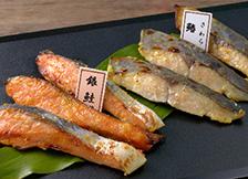 鰆、銀鮭のさぬき白味噌漬